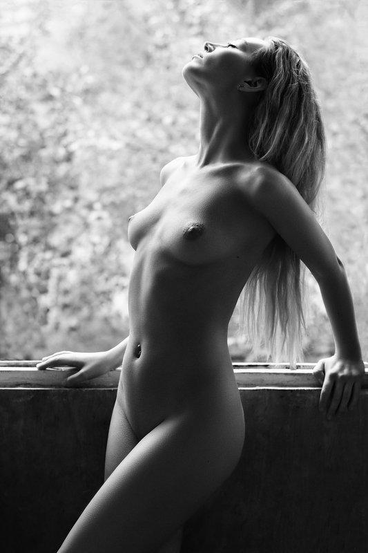 nude,модель,девушка,ню,чб Shinephoto preview