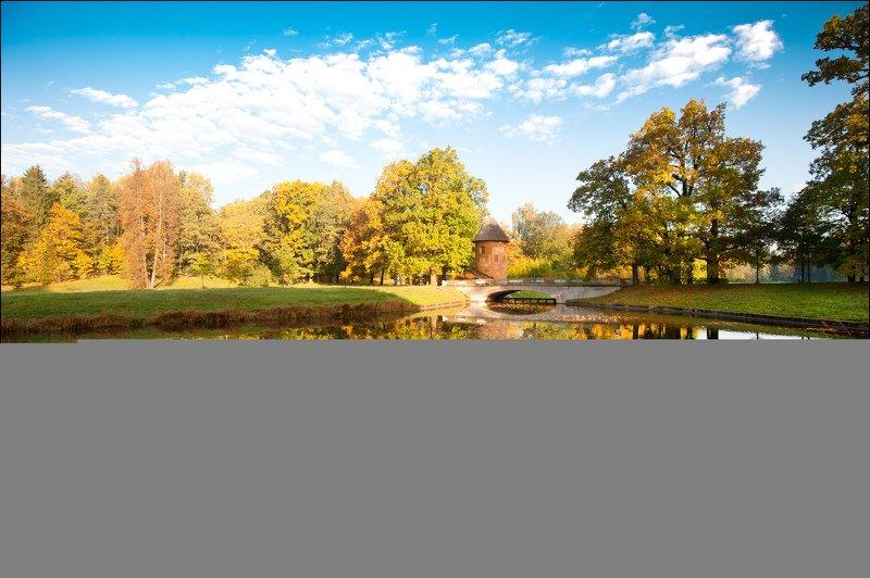 река Славянка в Павловском паркеphoto preview