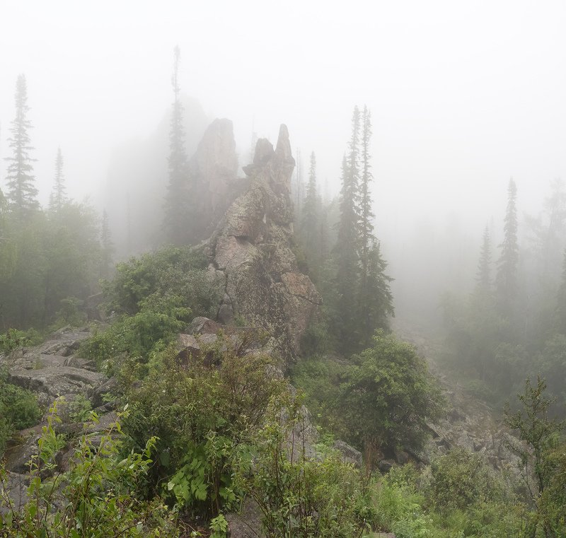 ...Туманная Китайская стенка...photo preview