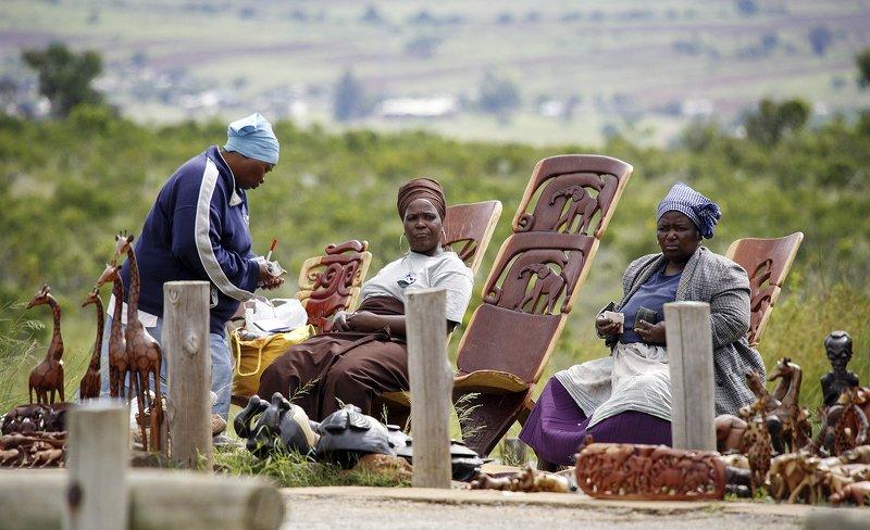 Африка, торговки, Фотодело Торговкиphoto preview