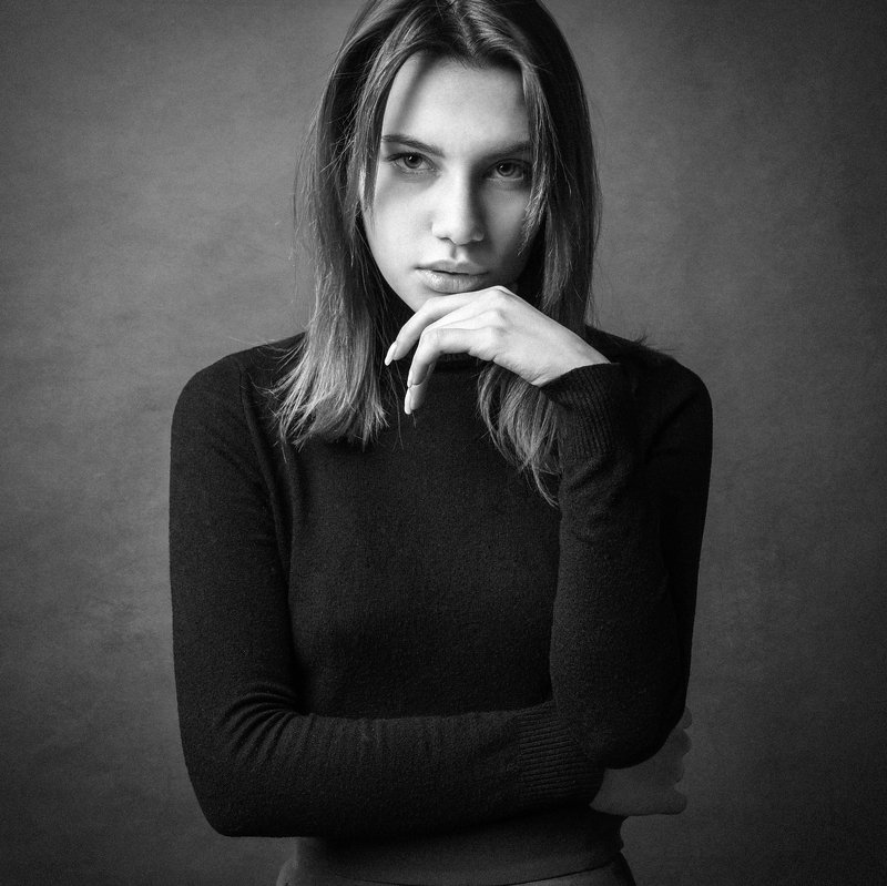портрет, женский портрет Элинаphoto preview