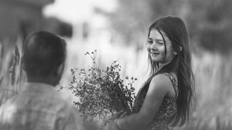 детство, дети, улыбка Запах детстваphoto preview