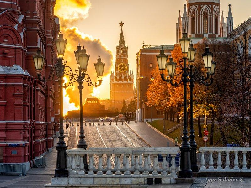 москва, кремль, утро, moscow, kremlin, morning Московское утроphoto preview