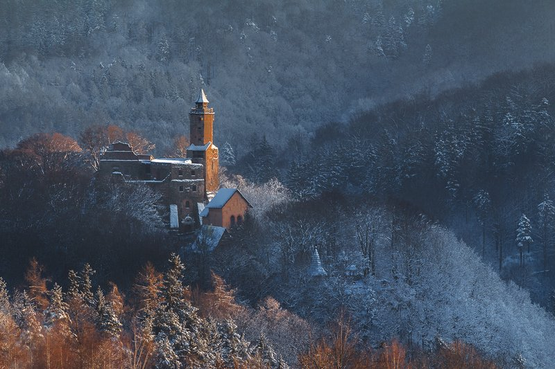 landscape,winter,canon,mountains,castle The Old, Old Story...II фото превью