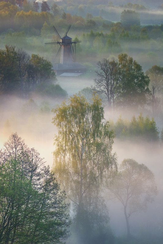 Истра, Подмосковье, весна Весеннее утро на Истреphoto preview