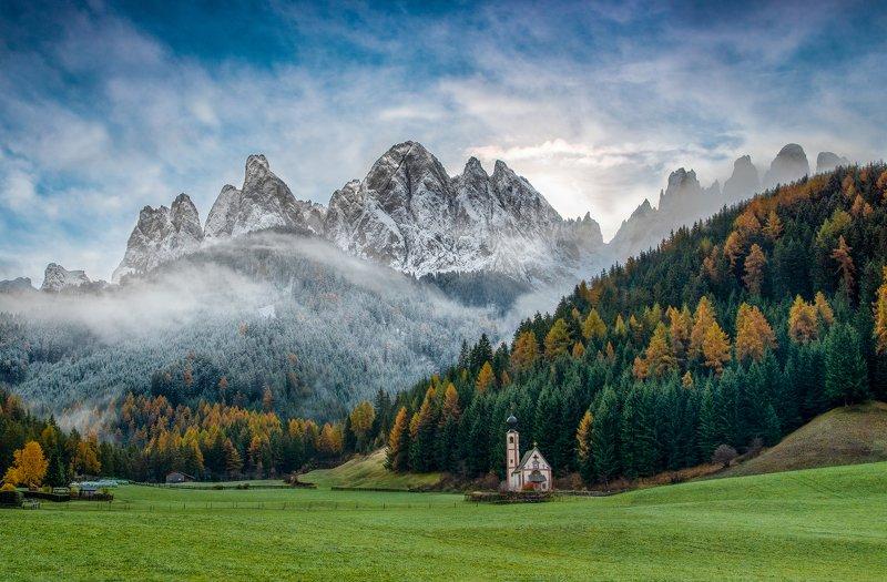 autumn,winter,Dolomites,mountains,landscape, Mixed seasonsphoto preview