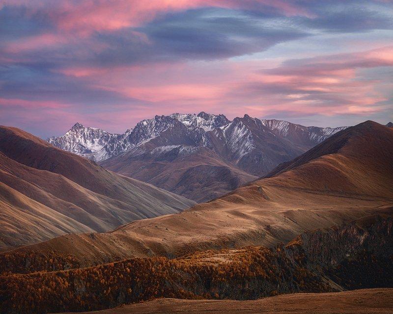 осень горы nikon никон кавказ кисловодск эльбрус Осень в Кабардино-Балкарииphoto preview