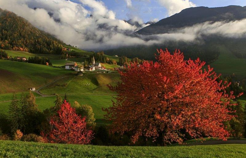 Осенняя Санта Маддалена фото превью