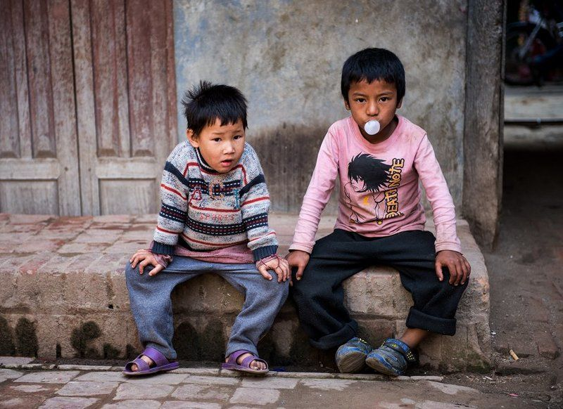 Катманду, Непал Джентельмены удачиphoto preview