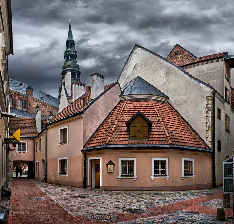 Тихие улочки Риги.photo preview