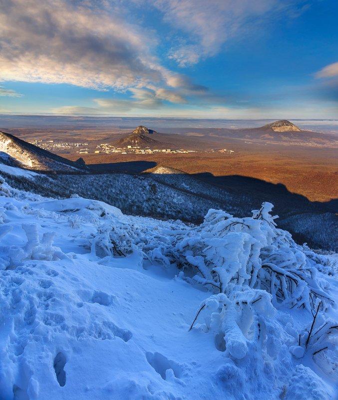 ноябрь, кмв,бештау, снег, природа,пейзаж На грани зимы и осениphoto preview