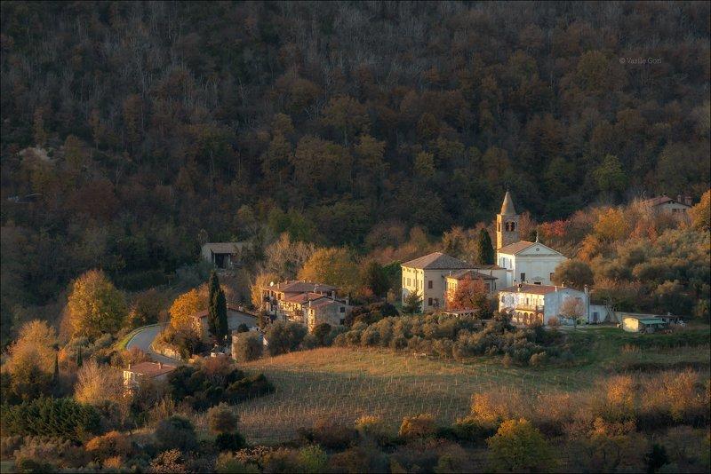 italy, faedo,italia,вечер,италия,veneto,кипарис,осень,венето,cipressi,belvedere,деревня,фаэдо FAEDOphoto preview