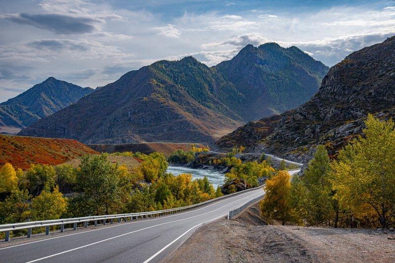 алтай. осень. горы. Чуйский трактphoto preview