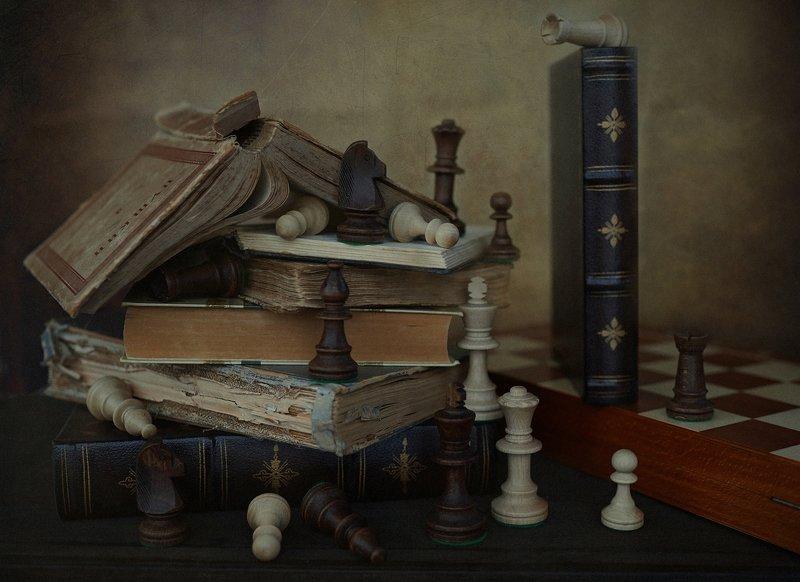 натюрмортсшахматами, шахматы, натюрморт, chess, stillife С шахматамиphoto preview
