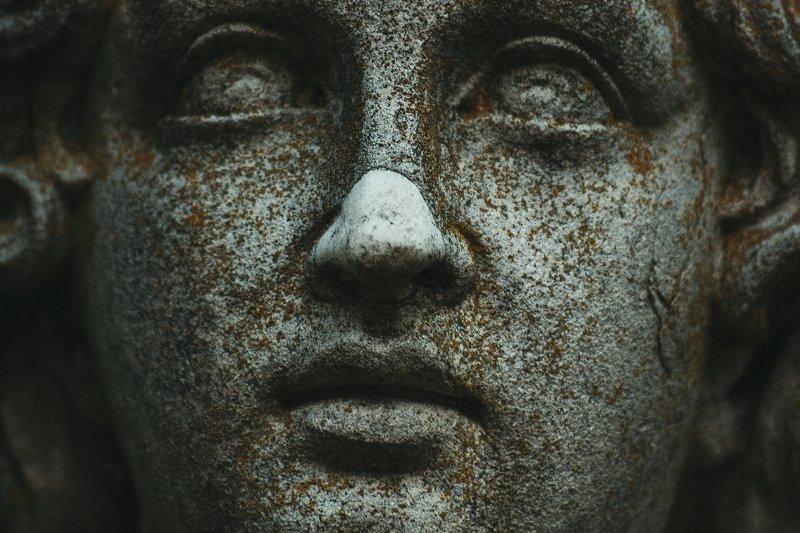 нос, глаза, камень, лицо, скульптура, скульптуры scarfacephoto preview