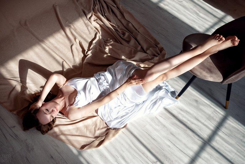 портрет, студия, модель Марианнаphoto preview