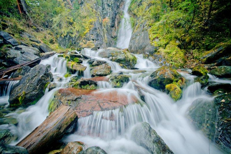Алтай, Карасу, водопад Водопад Карасуphoto preview