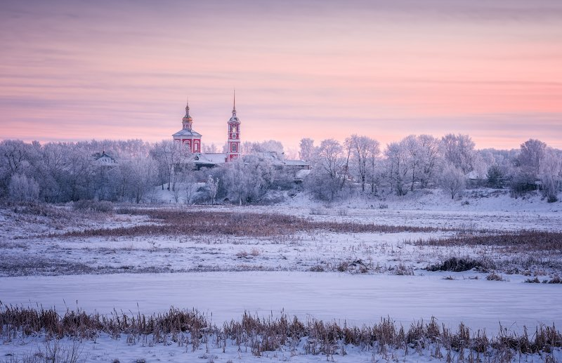 мороз, суздаль, зима, пейзаж Морозный Суздальphoto preview