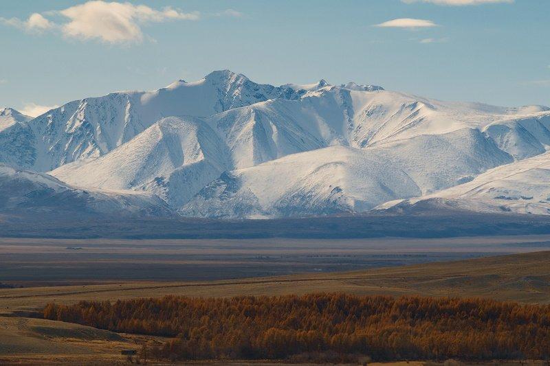 Вид от посёлка Ортолык.photo preview