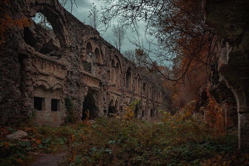 таракановский форт осень развалины история фортификационные сооружения украина Таракановский фортphoto preview