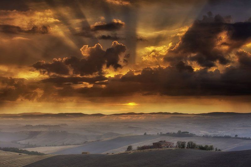 Tuscany Sunsetphoto preview