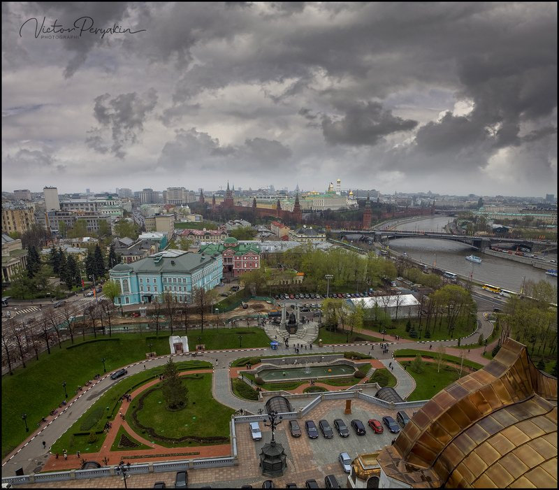 над Москвой тучи серые...photo preview