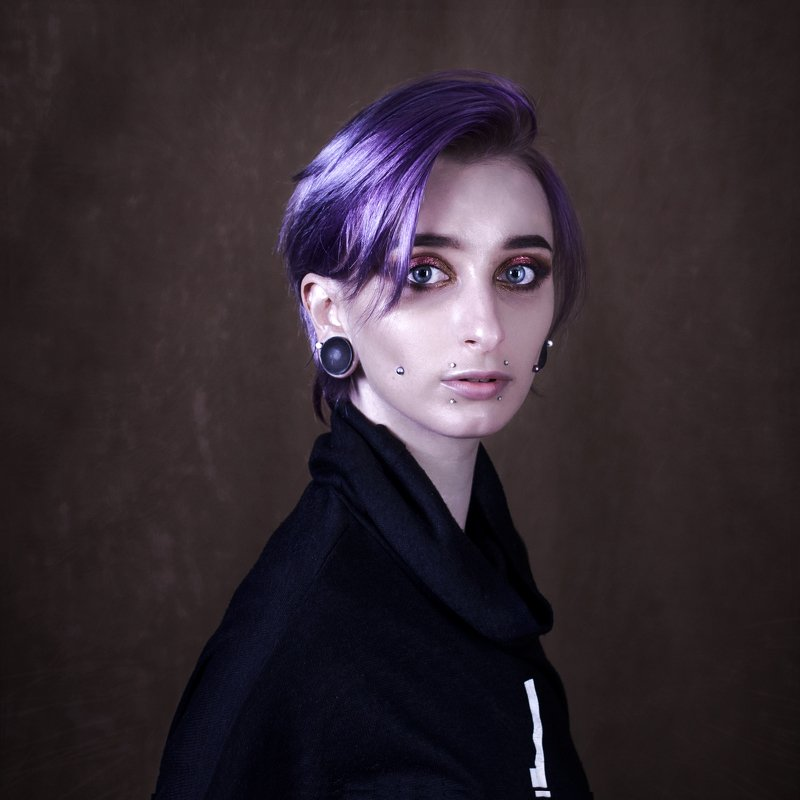purple piercing punk eyes girl nikon Eyes of Demyphoto preview