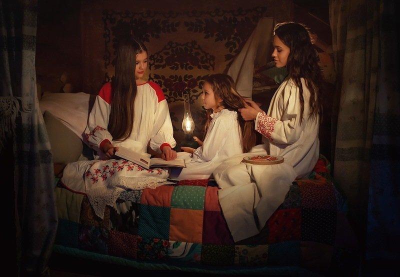 Три девицы ...photo preview