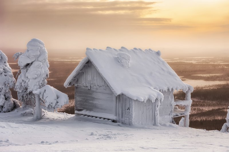 заполярье, лапландия, зима, леви, lapland, finland, levi Лапландияphoto preview