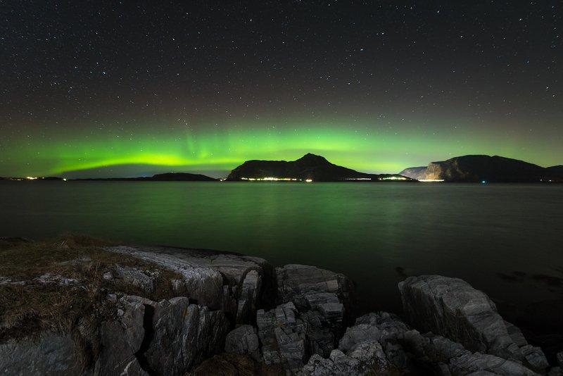 aurora,norway,night,landscape Norwayphoto preview