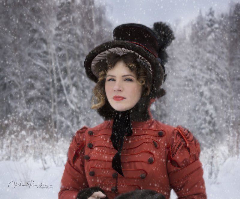 зимний портретphoto preview
