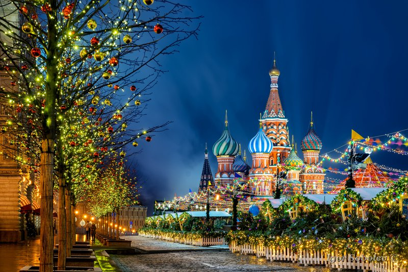 новый год, москва, красная площадь, new year, moscow, red square Предновогодняяphoto preview