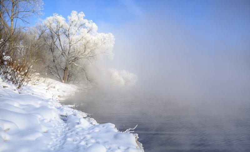 морозным утром. Морозным утром.photo preview