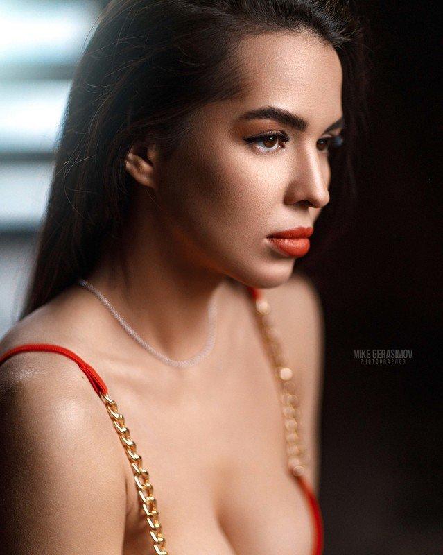 портрет девушка взгляд portrait красиво платье Айяphoto preview