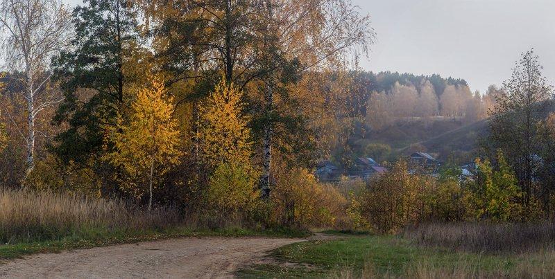 осень октябрь петрино вечер Петриноphoto preview