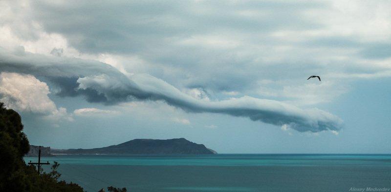 Крым, меганом Облако над Меганомомphoto preview