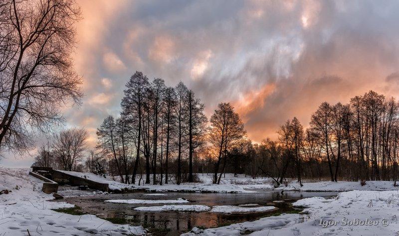 москва, кузьминки, зима, пейзаж, утро Погожее утречкоphoto preview