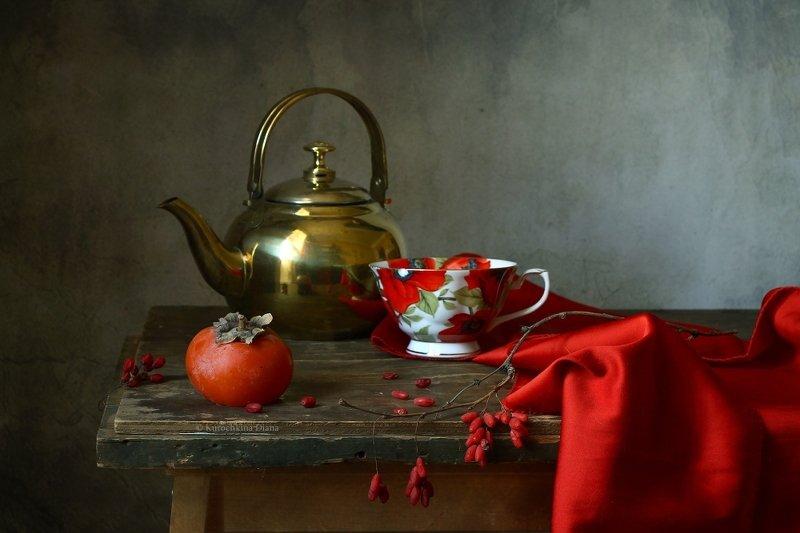 натюрморт, осень, красный *photo preview