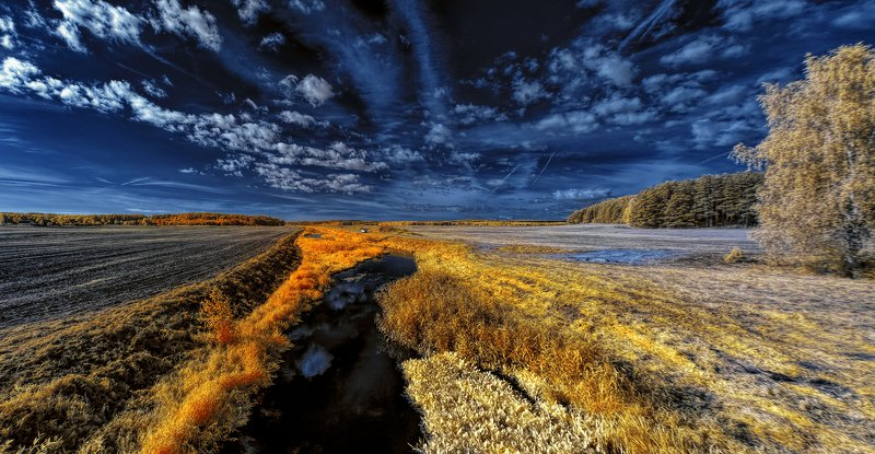 infrared,ик-фото,инфракрасное фото, инфракрасная фотография, пейзаж, осень Инфракрасное путешествие в осеньphoto preview