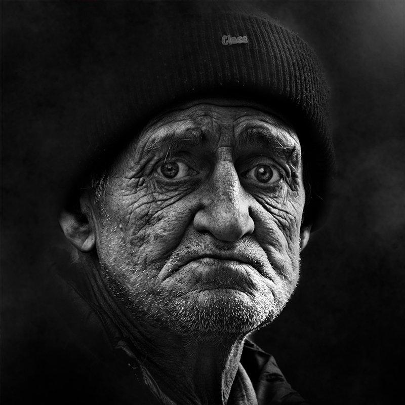 портрет, квадрат, калинин юрий ,ч/б фото, уличная фотография, юрец, люди, лица, город, санкт-петербург ,фотограф classphoto preview