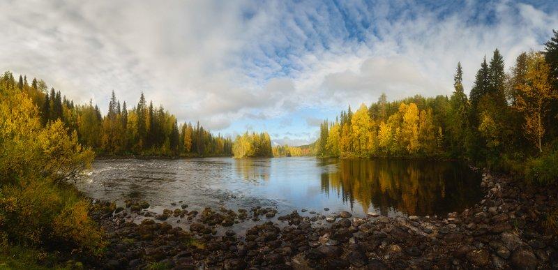паанаярви, оланга, карелия Сентябрь на Олангеphoto preview