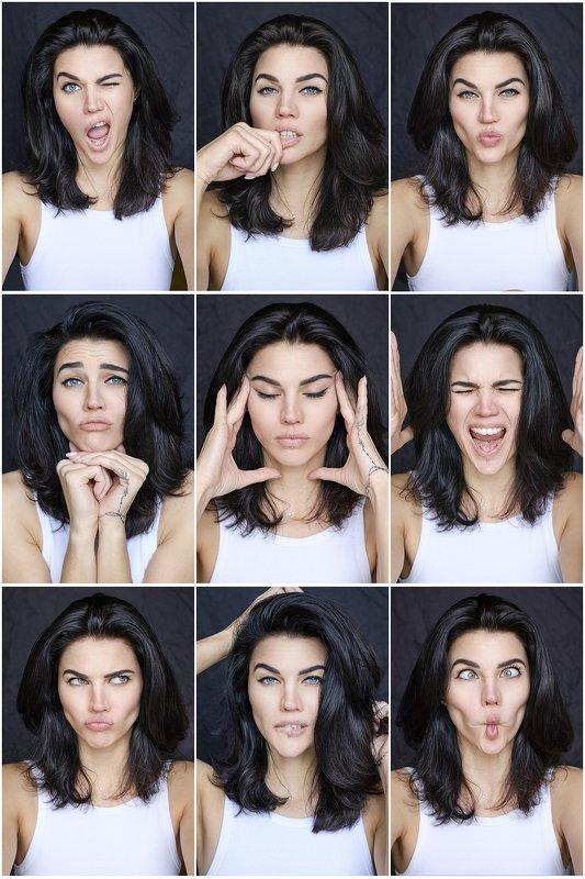 girl, beautiful, beauty, feeling, portrait, fujifilm, blue, eyes, brunette feeling...photo preview