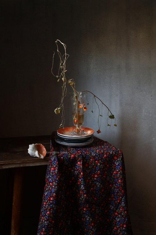 натюрморт, сухие цветы, сухостой, поздняя осень Сухостойphoto preview