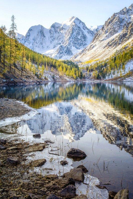 алтай,горы,шавла лёд и пламяphoto preview