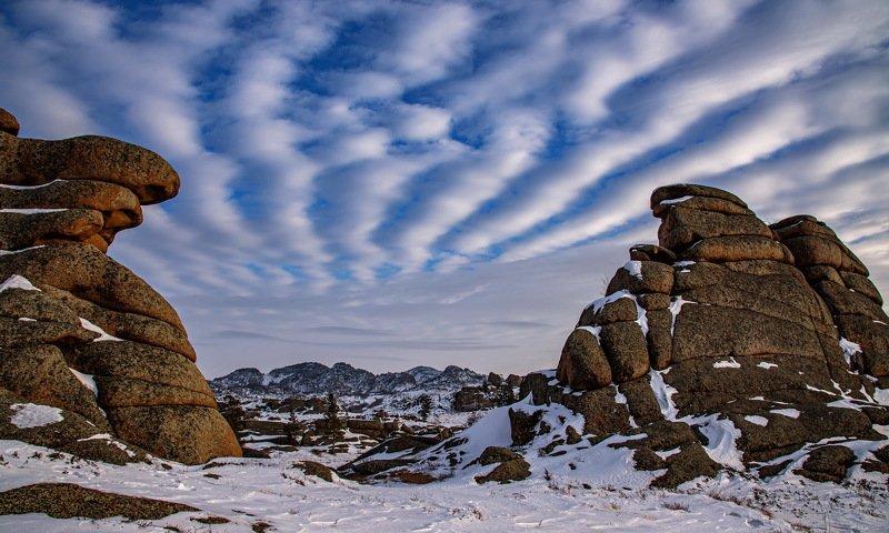 горы зима ***photo preview