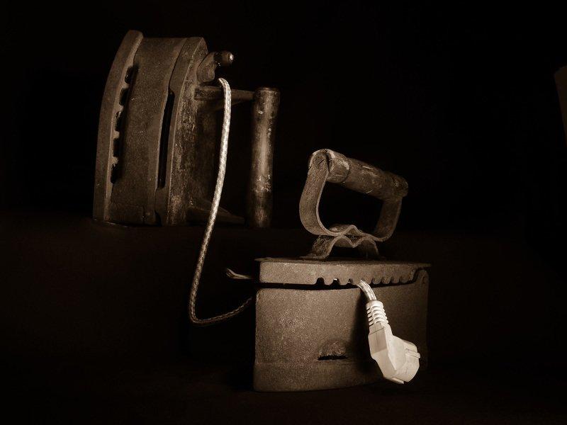абстракция, фотография, натюрморт, концептуальное, свет, макро , юмор Последний аргумент.photo preview