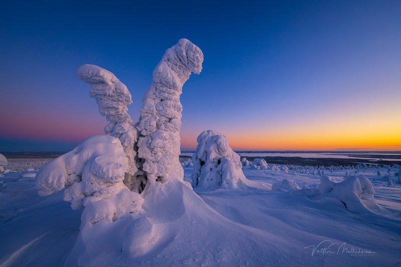 Зимняя Лапландия.photo preview