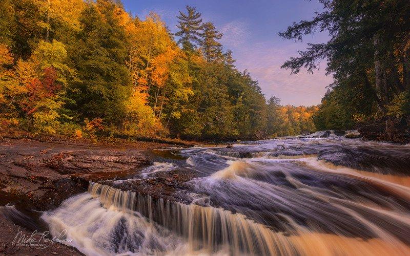 presque isle, river, rapids, up michigan, usa Пороги Реки Преск-Айл | Верхний полуостров штата Мичиган, СШАphoto preview