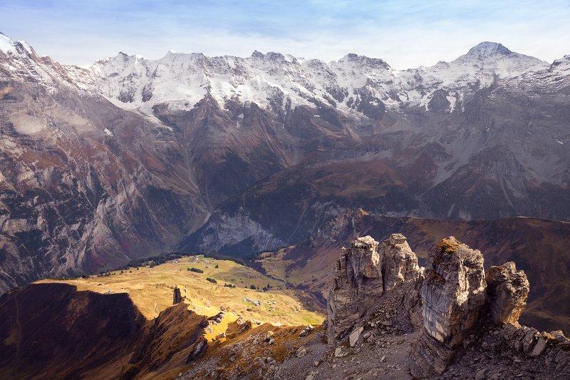 горы,снег, швейцария, туризм,солнце,воздух *Солнечная долина*photo preview