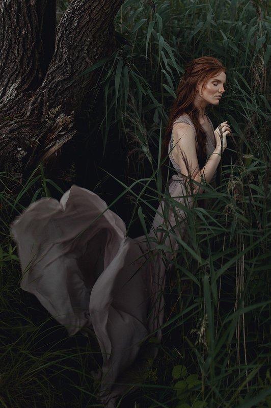 девушка, природа, портрет Дарьяphoto preview
